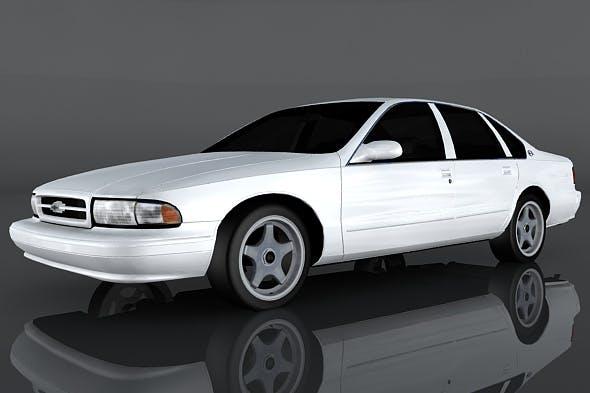 Chevrolet Impala SS - 3DOcean Item for Sale
