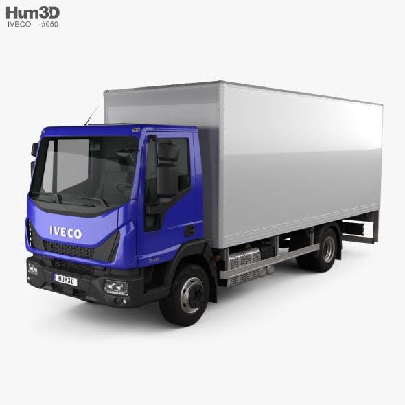 Iveco EuroCargo Box Truck 2015
