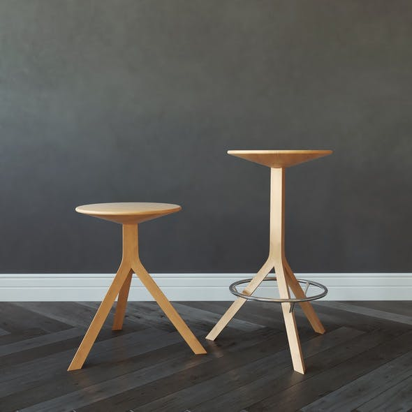 Alison Brooks Kitchen Stool