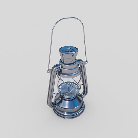 Oil Lamp Element 3D Model