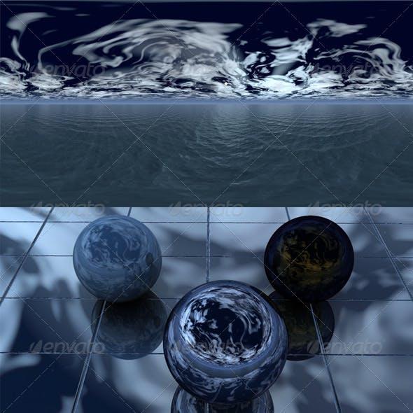Night sea 2 - 3DOcean Item for Sale