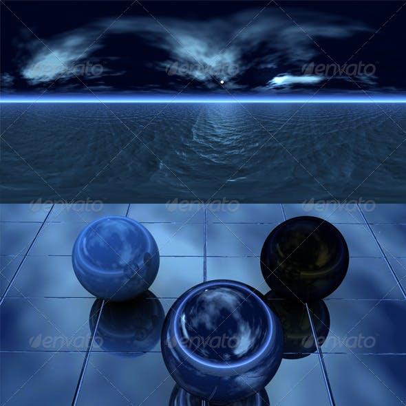 Night sea 1 - 3DOcean Item for Sale