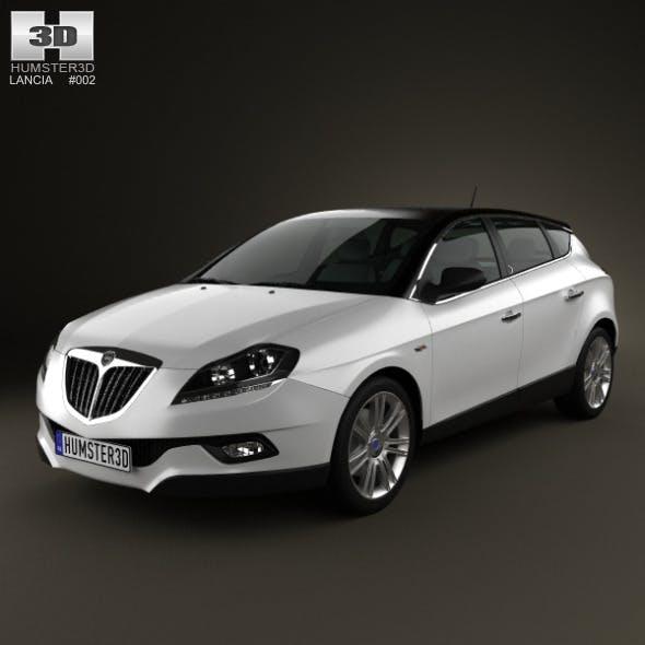 Lancia Delta 2012 - 3DOcean Item for Sale