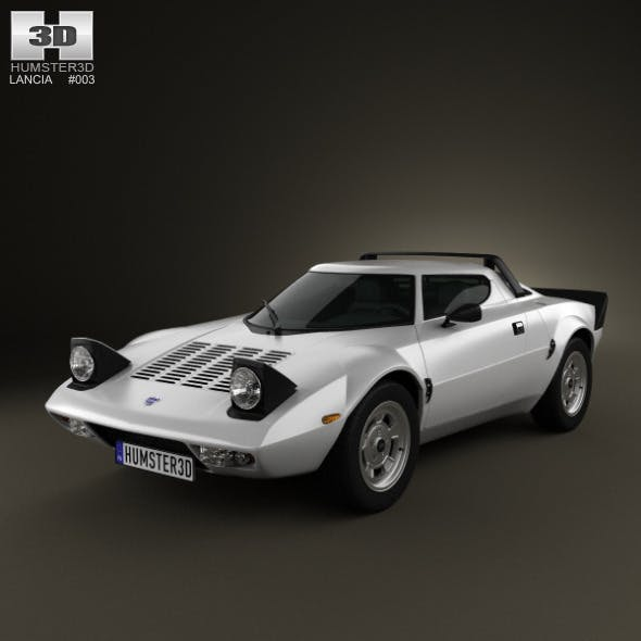 Lancia Stratos 1972-1974 - 3DOcean Item for Sale