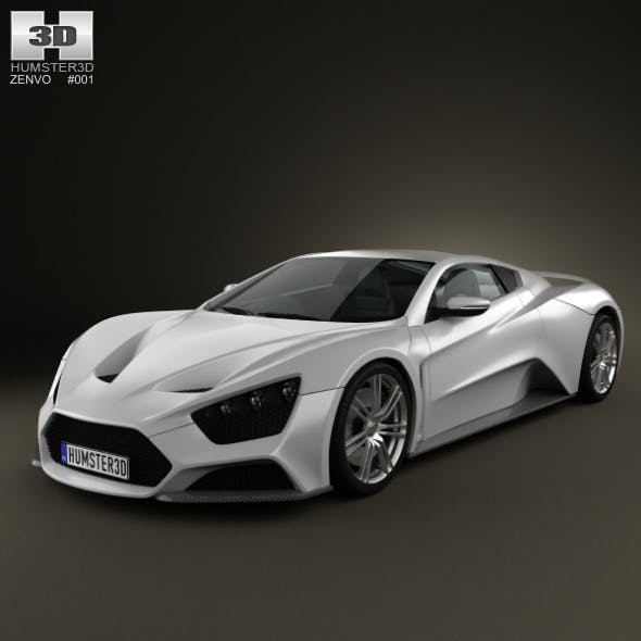 Zenvo ST1 2010 - 3DOcean Item for Sale