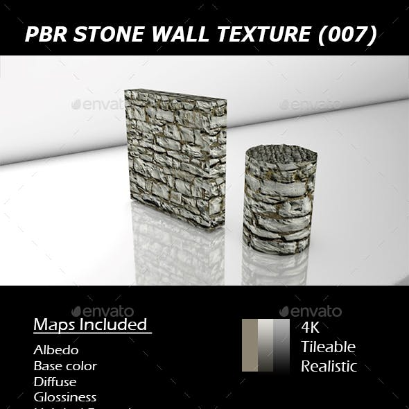 REALISTIC PBR STONE WALL TEXTURE 007.