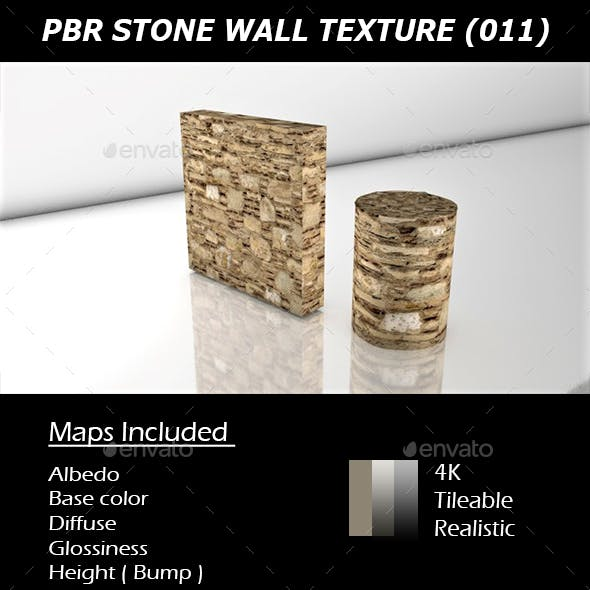 REALISTIC PBR STONE WALL TEXTURE 011.