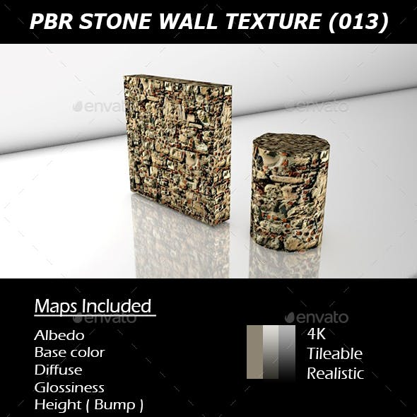 REALISTIC PBR STONE WALL TEXTURE 013.