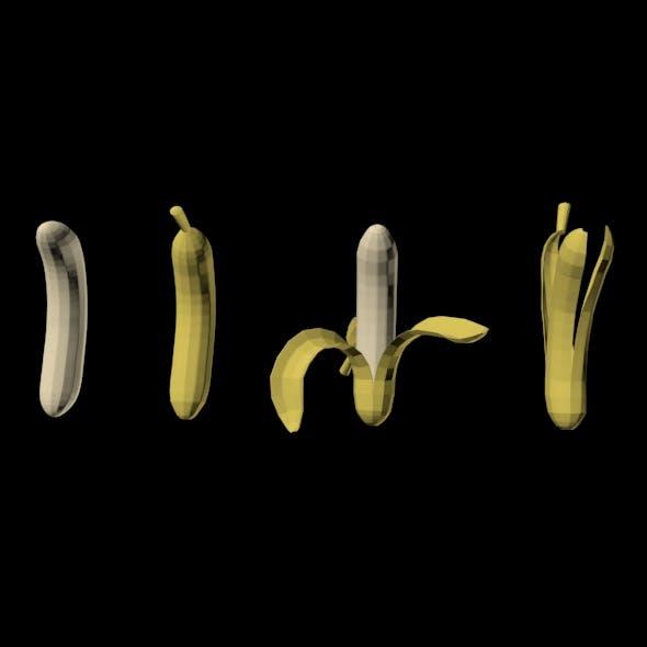 Bananas 01 - 3DOcean Item for Sale