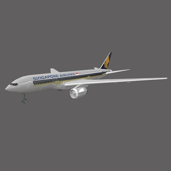 Top 10 Airplane - 3DOcean Item for Sale