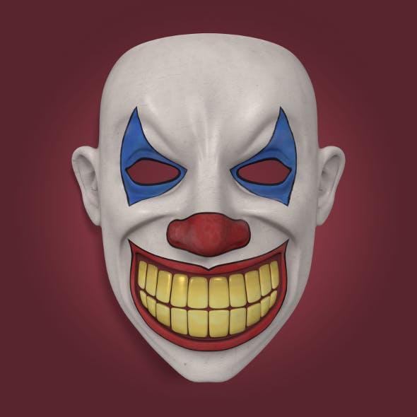 Clown Mask - 3DOcean Item for Sale