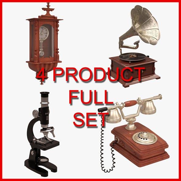 Antique Set - 3DOcean Item for Sale