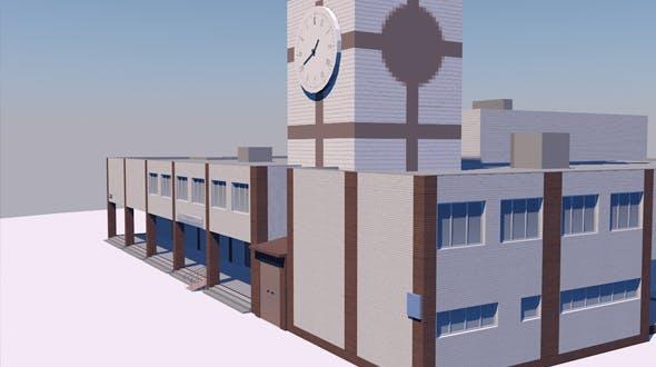 Medical centre - 3DOcean Item for Sale