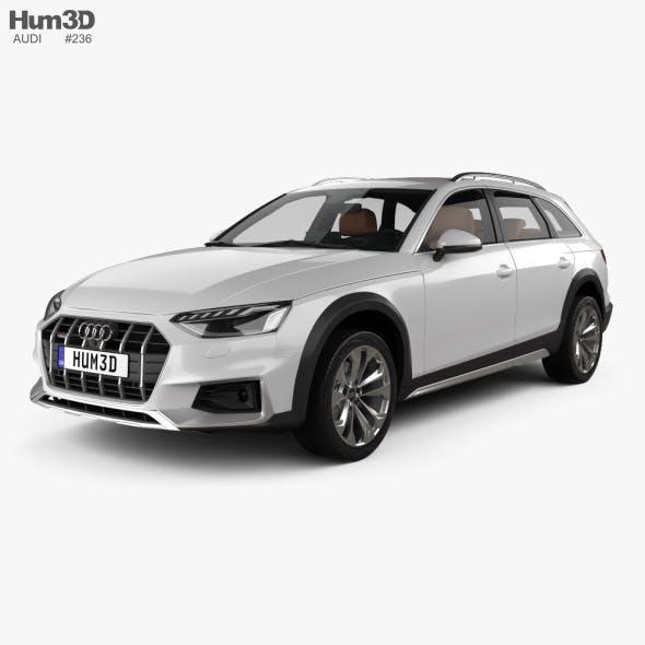Audi A4 Allroad with HQ interior 2019