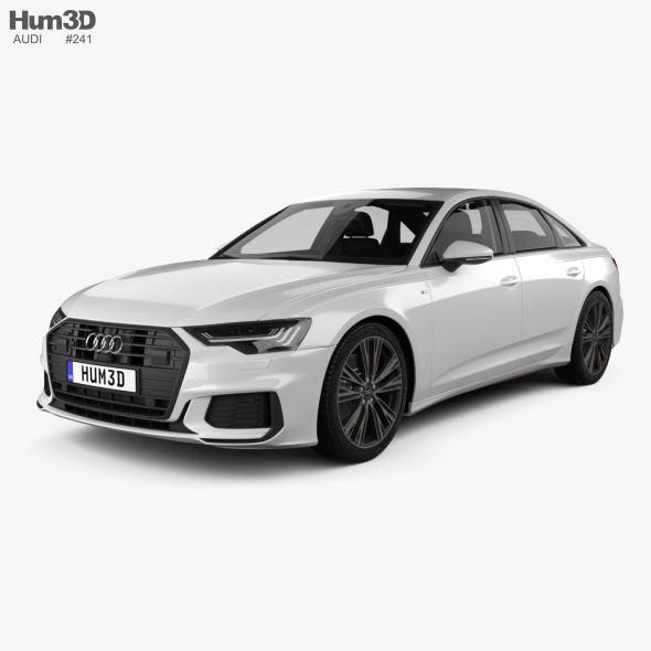 Audi A6 S-Line sedan with HQ interior 2018