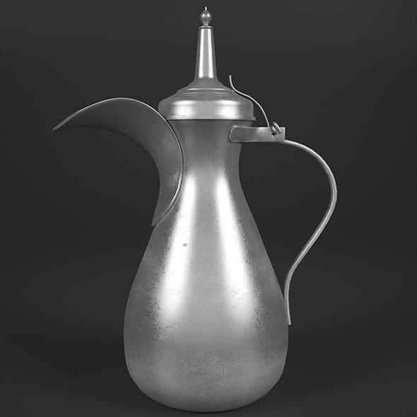 Bedouin teapot