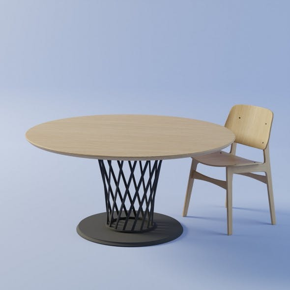 Chear and table