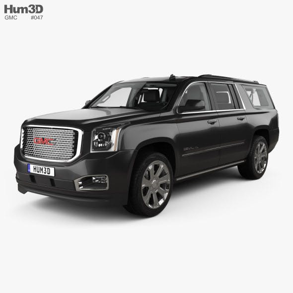 GMC Yukon XL Denali with HQ interior and engine 2014