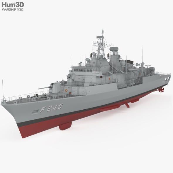 MEKO 200TN frigate - 3DOcean Item for Sale