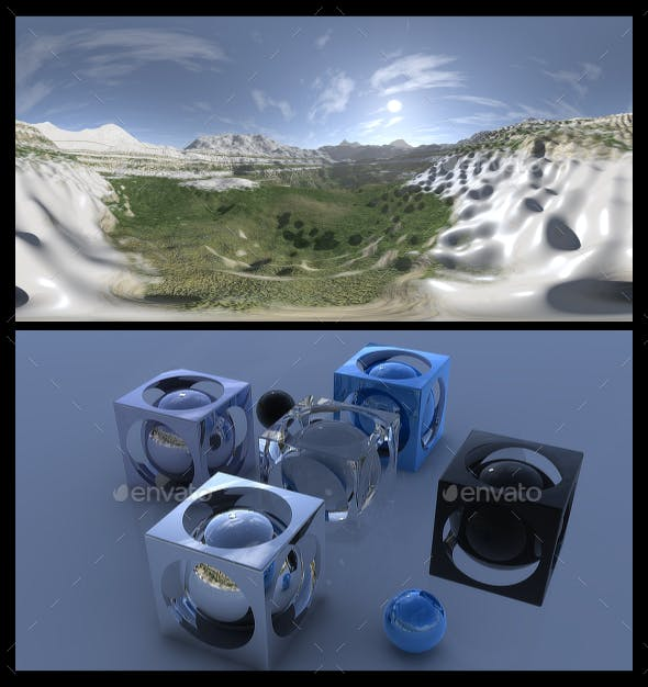 Snow 6 - HDRI - 3DOcean Item for Sale