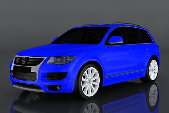 Volkswagen Touareg - 3DOcean Item for Sale