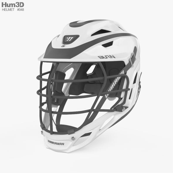 Warrior Custom Burn Helmet