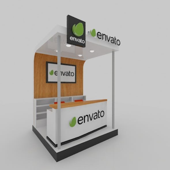 simple booth 2x2