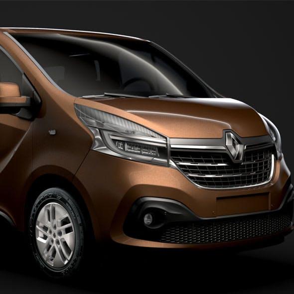 Renault Trafic Minibus LWB 2019 - 3DOcean Item for Sale
