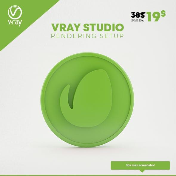 Vray Studio Rendering Setup