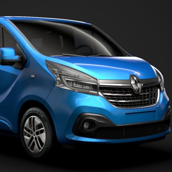 Renault Trafic SpaceClass 2019 - 3DOcean Item for Sale