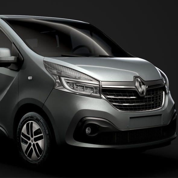 Renault Trafic SpaceClass LWB 2019 - 3DOcean Item for Sale