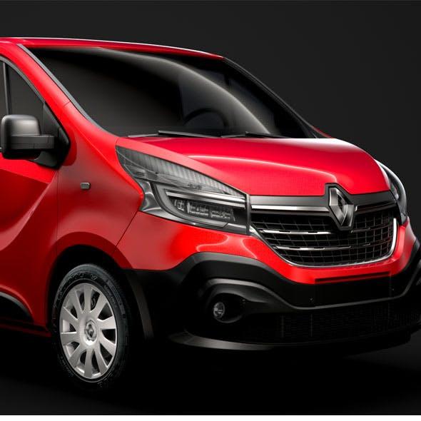 Renault Trafic Van LWB 2019 - 3DOcean Item for Sale