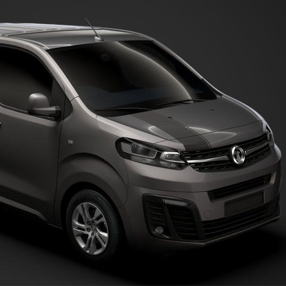 Vauxhall Vivaro L1 UK spec 2020 - 3DOcean Item for Sale