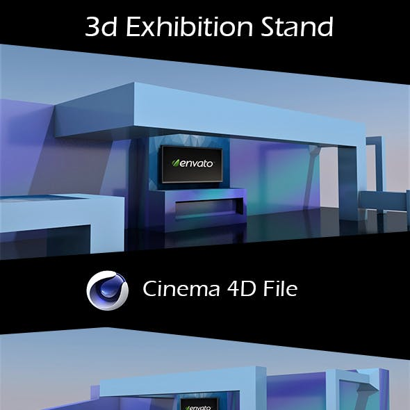 3d Exhibition Stand Design.