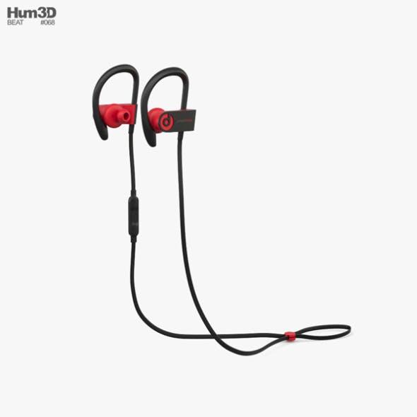 Beats Powerbeats 3 Black Red