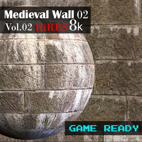 Medieval Wall 02
