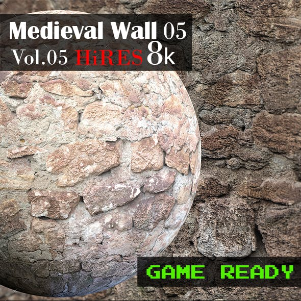 Medieval Wall 05