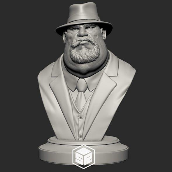Mafia Boss - 3D Print Ready