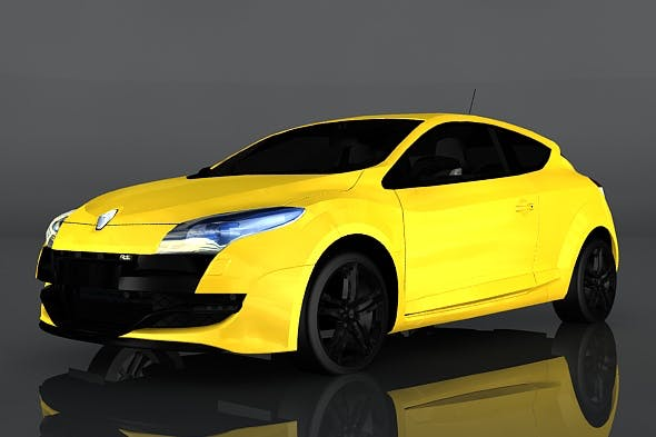 Renault Megane - 3DOcean Item for Sale