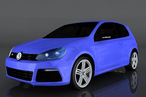 Volkswagen Golf R MkVI - 3DOcean Item for Sale