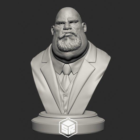 Mafia Boss Variation B - 3D Print Ready