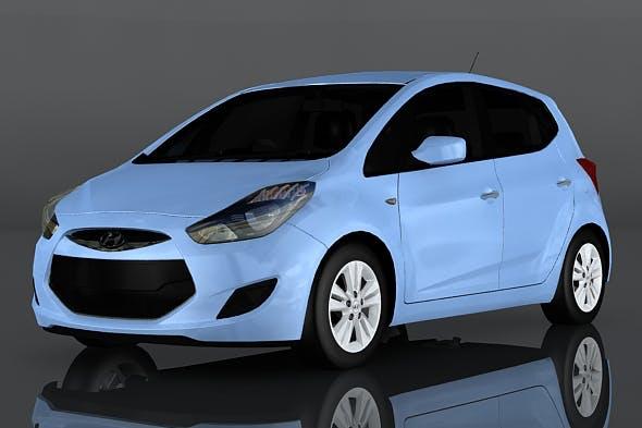 Hyundai ix20 - 3DOcean Item for Sale