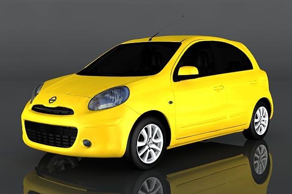Nissan Micra - 3DOcean Item for Sale
