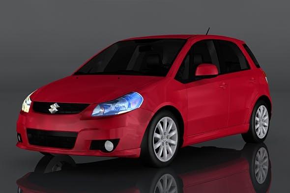 Suzuki SX4 - 3DOcean Item for Sale
