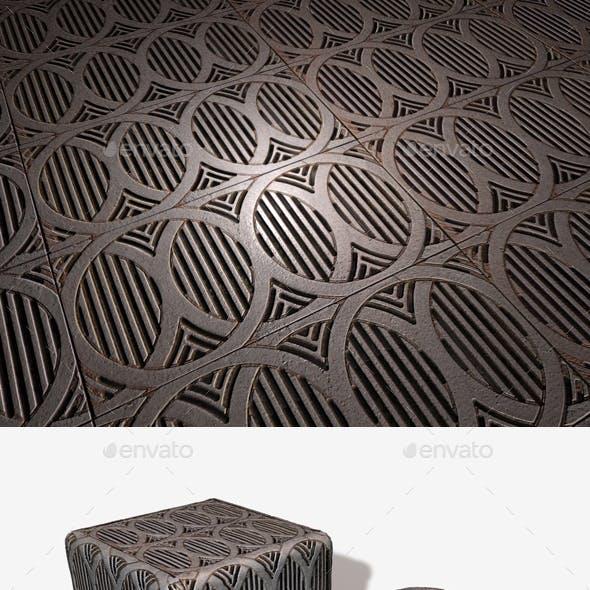 Metal Grate Seamless Texture