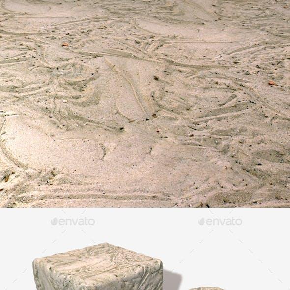 Sand Tracks Seamless Texture