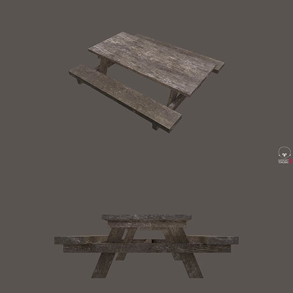 Street Wooden Table