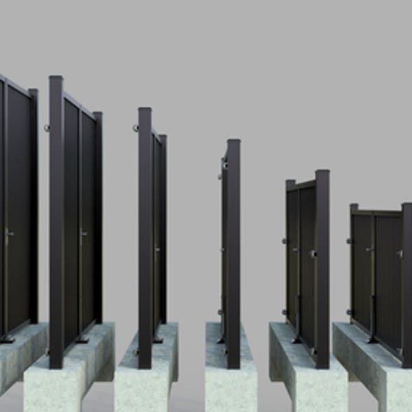 Pack Exterior Gates - Exterior Doors