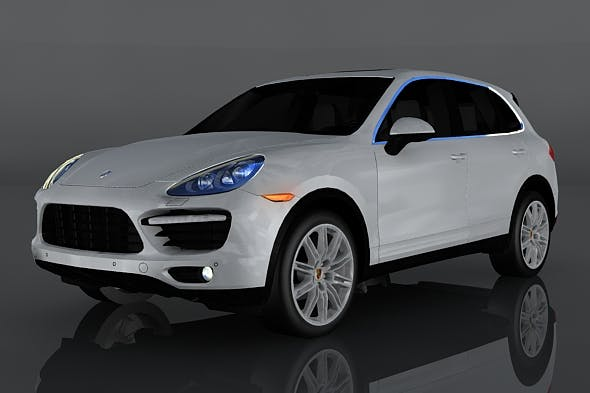 Porsche Cayenne Turbo - 3DOcean Item for Sale