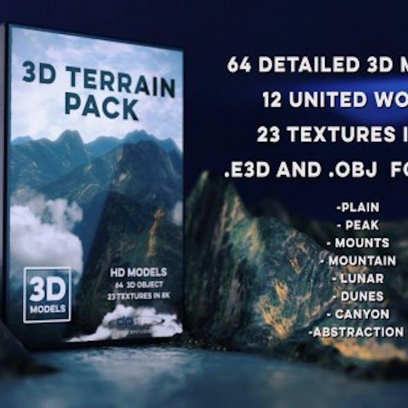 64 Terrain Pack